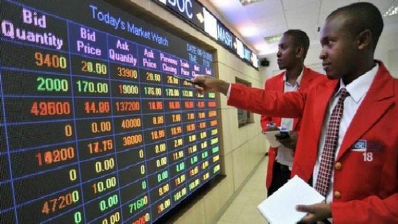 Nigerian stock market profits N36 billion today