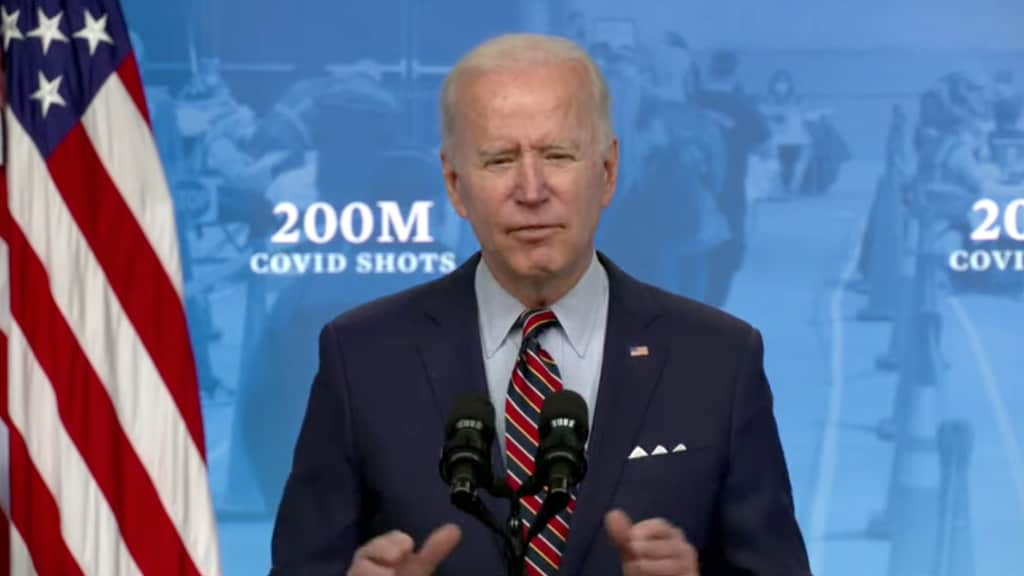 Biden Pushes Tax Credit to Spur More COVID Shots